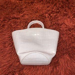 Loeffler Randall White mini leather bag
